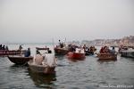 Morgendliche Bootsfahrt auf dem Ganges - Varanasi