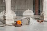 Im Sikh-Tempel Gurudwara Bangla Sahib, Delhi