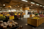 Blick in einen neuen indischen Supermarkt