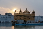 Sonnenuntergang am Goldenen Tempel, Amritsar