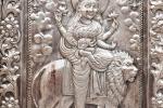 Silberne Tür des Tempels Durgiana Mandir - Amritsar