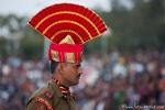 Paradeuniform der indischen Grenzposten