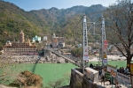 Eine der beiden Hängebrücken - Lakshman Jhula, Rishikesh
