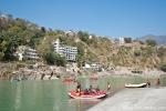 Rafting ist hier sehr beliebt, Rishikesh