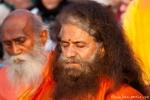 Guru H. H. Pujya Swami Chidanand Saraswati Maharaj vom Parmarth Niketan, Rishikesh
