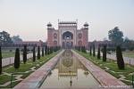 Haupteingang des Taj Mahal - Agra