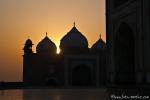 Sonnenaufgang am Taj Mahal - Agra
