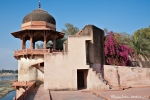 Türmchen im Itimad-ud-Daula-Komplex, Agra
