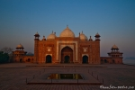 Moschee neben dem Taj Mahal - Agra