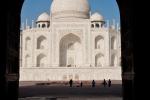 Durchblick - Taj Mahal, Agra