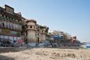 Am Asi-Ghat, dem ältesten Ghat in Varanasi