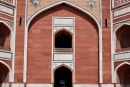 Eingang zu Humayun`s Grabmal - Delhi