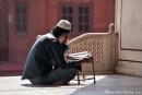 Junger Moslem in der Moschee Jami Masjid - Delhi
