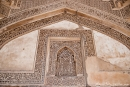 Details der Bara Gumbad Moschee, Lodi Garten Delhi