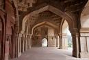 Bogengang der Bara Gumbad Moschee, Lodi Garten Delhi