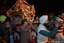 Sänfte, in der das Heilige Buch zu Bett gebracht wird - Goldener Tempel, Amritsar