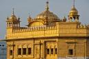 """Das Hauptheiligtum der Anlage, der Hari Mandir (""""Tempel Gottes"""") - Goldener Tempel, Amritsar"""