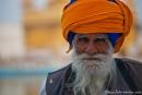 Hoch betagter Sikh