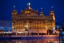 Abendstimmung - Goldener Tempel, Amritsar