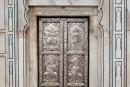 Silberne Tür am Durgiana Mandir, Amritsar