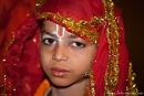Ein glückliches Kind sieht anders aus - Durgiana Mandir-Tempel, Amritsar