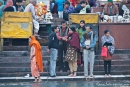 Religiöse Zeremonie am Hari-ki-Pauri-Ghat, Haridwar