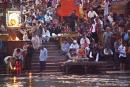 Religiöse Zeremonien am Hari-ki-Pauri-Ghat, Haridwar