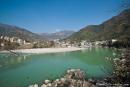 Am Ufer des Ganges