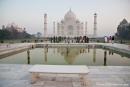 """Diana""-Bank vor dem Taj Mahal - Agra"