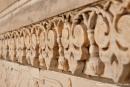 Kunstvolle Marmorreliefs - Taj Mahal, Agra