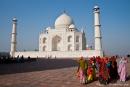 Indiens berühmtestes Gebäude - das Taj Mahal, Agra