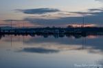 Sonnenuntergang am Yachthafen