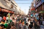 Menschenmassen in Varanasi