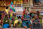 Inderinnen am Ghat - Varanasi