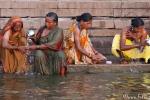 Morgentoilette am Ganges - Varanasi
