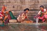 Große Wäsche - Varanasi