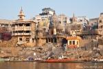 Blick auf das Verbrennungsghat - Varanasi