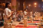 Ganga aarti am Dasashwamedh Ghat - Varanasi