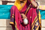 Pilgerin in Varanasi