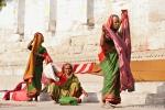 Die Wäsche ist trocken - Varanasi