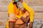 Heiliger Mann in Varanasi