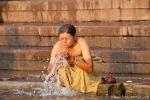 Morgentoilette - Varanasi