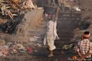 Am Verbrennungsghat - Varanasi