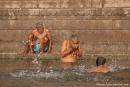 Ein paar Schluck Gangeswasser - Varanasi