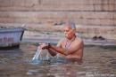 Ein Bad im heiligen Ganges